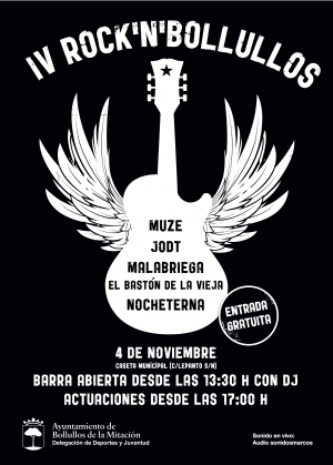 Cartel IV Rock n' Roll Bollullos